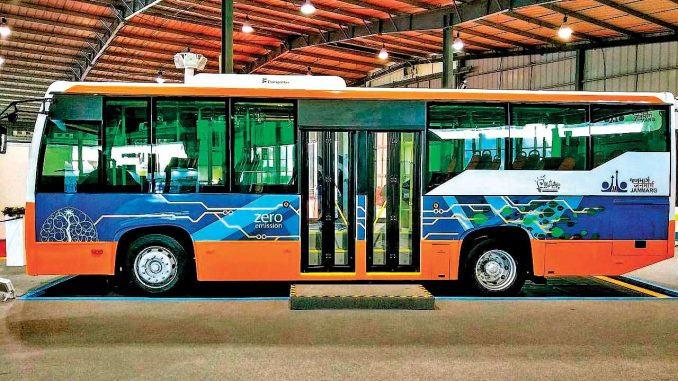 Ahmedabad Electric Bus